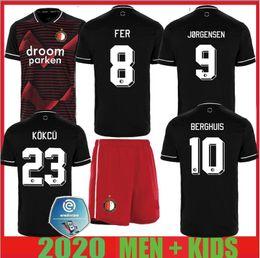 2019 ko 20 21 Feyenoord Fußball-Trikot KOKCU Berghuis FER Camiseta de futbol JORGENSEN camiseta de fútbol 2020 2021 SENESI Männer Kinder-Fußballhemd