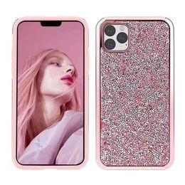 Canada Cas de téléphone bling Diamond strass 2in1 PC + TPU Glitter pour iPhone 11 XR XS MAX X 8 7 Samsung S10 Note 10 Note 10 plus Offre