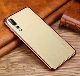 C84-1477 cover posteriore smussata opaca per Huawei p20pro, cover posteriore in marmo color corallo per Huawei P20 PRO da