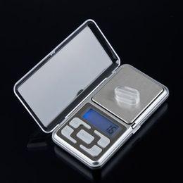 Nueva nave Drop 500g 0.1g Escala Electrónica Mini Digital Pocket Weight Jewelry Diomand Balance joyería de escala digital desde fabricantes