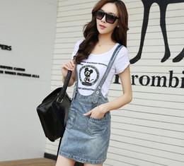 denim vestido de clube mais tamanho Desconto Coreano Novo vestido Jean Mori Menina Verão Mulheres Jeans Vestido Denim Sundresses Strap Denim Vestidos Mulher Plus Size Clube Vestidos XL