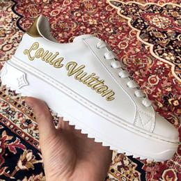 scarpe soled out Sconti Novità 2019 Scarpe da donna Moda Sneakers Chaussures pour Femmes Thick Sole M25 Scarpe da donna Calzature sportive con lacci Time Out Sneaker Hot