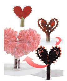 Paper Tree Blossom - Love Tree Creative jouet de bureau amusant amusant décompression entière nouveaux jouets exotiques cadeau d'anniversaire de Noël Nouveauté Jeux jouets pas chers ? partir de fabricateur
