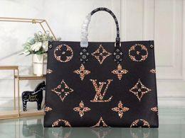 44571 M44571 shopping bag oversize moderna borsa da donna borsa a spalla singola 44571 in pelle di alta qualità dimensioni: 41 * 34 * 19cm regalo postale da