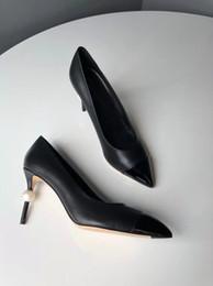 2019 сатиновые шпильки экстремальное качество высокие каблуки жемчуг сексуальная партия Стилет скольжения на свадебное платье обувь для женщины кожа атласные насосы новый дешево сатиновые шпильки