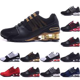 free shipping e9896 ae273 2019 chaussures r4 shox shoes Hommes chaussures NZ bule rouge blanc noir  rose or célèbre R4