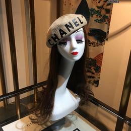 берет хаки Скидка Оптово-женская симпатичная английская британская шерстяная фетровая беретная женская женская французская художница черный хаки с плоским колпачком