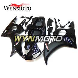 2019 carenado completo r6 Carenado completo negro brillante blanco R6 motocicleta para Yamaha YZF 600 R6 2005 05 ABS inyección de plástico Kits de motos cubiertas carenado completo r6 baratos