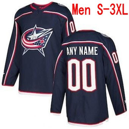 navy blue linen jacket Coupons - Custom Columbus Blue Jackets 2019 Navy Third Jersey Any Number Name men women youth kid White 14 Gustav Nyquist Atkinson Dubois Texier Nash