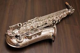 Canada Japon professionnel saxophone alto 82Z Eb argent saxo alto 82zs argentant saxofone Top instrument de musique Avec Embouchure Cas livraison gratuite cheap eb silver Offre