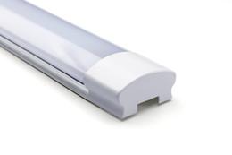Tubo de luz led interior on-line-Tubo de sarrafo LED Lâmpada à prova de explosão à prova de poeira Lâmpada LED Lâmpada do teto Purificação Luminária 2FT / 4FT / 5FT