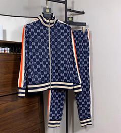 Спортивная одежда спортивная одежда мужчины онлайн-Мужские Куртки Наборы Кофты Костюмы Бегун Костюмы Спортивный Костюм Мужчины Женщины Повседневная Спортивная Толстовка Спортивный Костюм Куртка Одежда G18
