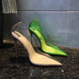 Saltos claros on-line-Frete grátis moda feminina Bombas de couro Nude patente dedo do pé Pointy claro sapatos de salto alto pérolas marca nova com caixa de 12 cm 10 cm 8 cm