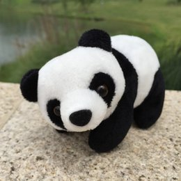 2019 boné preto laranja Bonito Doze Zodíaco Chinês Panda Brinquedos De Pelúcia Recheado Kawaii Animal Boneca para Crianças Lindo Presente para As Crianças Dos Namorados Presente