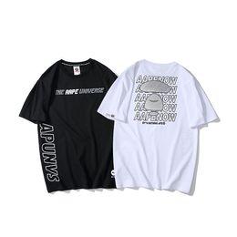 Canada 19ss New Oft dames hommes luxurio manches courtes Tee D'été Respirant Gilet Shirt Streetwear En Plein Air T-shirt Offre