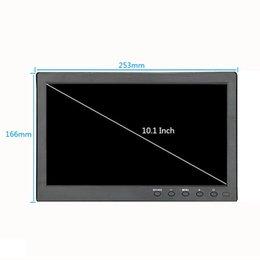 """n box tv Скидка ЖК-монитор 10,1 """"1366x768, полноэкранный режим HDMI, промышленный емкостный сенсорный ЖК-монитор с AV / VGA / HDMI / USB / динамиком"""