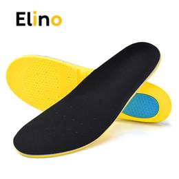 Zapatillas de correr con memoria de espuma. online-Elino Memory Foam Sport Insole Gel Absorción Zapata para correr Sporting Aliviar Pies Dolor Cojín para hombres Mujeres