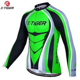 X-tiger Pro Winter Fleece Jersey de ciclismo Manga larga Ropa de bicicleta MTB Ropa de bicicleta térmica Invierno Maillot Ropa Ciclismo desde fabricantes