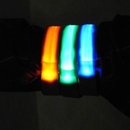 luces de advertencia portátiles Rebajas Deportes al aire libre Noche Correr Luz Seguridad Correr Led brazo Pierna Advertencia Portátil pulsera Montar Bicicleta Partido Ciclismo Band # 78842