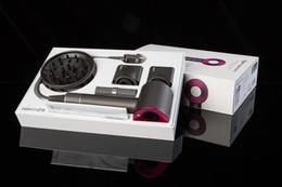 Пакеты для волос онлайн-Dyson airwrap сверхзвуковой фен профессиональный салон инструменты США/Великобритания/ЕС/AU PLUG фен тепла Супер Сухой фен с розничной упаковке