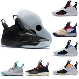 Remise Nouveau 33 33s PE Hommes Chaussures De Basket-ball Tech Pack Utilitaire Visible Blackout Future Flight Jade Trainer hommes Baskets De Sport 7-12 ? partir de fabricateur