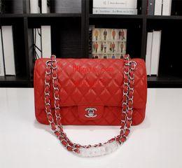 correntes diamantes genuínos Desconto Bolsas de marca bolsas mochila bolsas saco crossbody Sac à principal saco de couro genuíno Verão de diamantes em forma de cadeia de couro xadrez bolsa de ombro