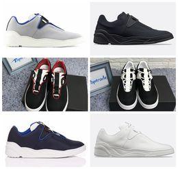 0ffdd01db B17 Sapatilha Dos Homens Sapatos Casuais Plataforma Das Mulheres Sapatilha  Designer De Lona Preta de Couro Branco B17 Sneaker Luxo Lace-Up Sapatos  Casuais