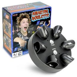miniature 12 Sconti decompressione Miniature shock elettrico rilevatore di bugie fortunato shock elettrico dito spoof gioco giocattolo desktop creativo giocattolo