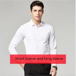 xxs vestidos brancos Desconto 2019 Novo Estilo de Qualidade Superior Roupas de Casamento Dos Homens Brancos Do Noivo Desgaste Camisas camisa do homem roupas de Noivo Camisas