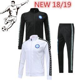 Wholesale Conjunto de chaqueta napolitana de alta calidad CALLEJON HAMSIK INSIGNE uniforme de fútbol JUGADOR MERTENS mayorista mayorista minorista