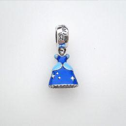 Convient aux bijoux de charme Pandora Europe et Amérique. Argent sterling 925 Bracelets Perle de bricolage en émail Cendrillon ? partir de fabricateur