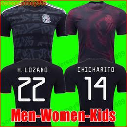 ce1a016e3 2019 camisa del fútbol de méxico chicharito Mexico soccer jersey football  shirt H. LOZANO 2019