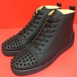 zapatillas de suela de goma Rebajas 2019 Zapatos de diseño spike Sock Donna suela de goma roja Espigas con tachuelas Zapatillas de deporte para hombre Zapatillas de deporte para mujer Zapatillas planas zapatos casuales