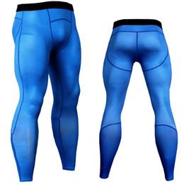 2018 haute qualité pantalon à carreaux hommes compression pantalon cool maille engrenage épissé leggings collants fitness joggeurs hommes pantalons élastiques ? partir de fabricateur