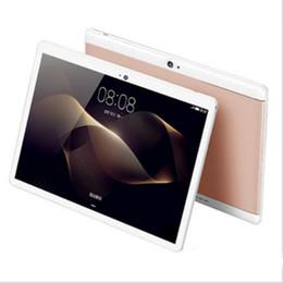 mini pc octa Sconti DHL di alta qualità Octa Core da 10 pollici MTK6582 IPS touch screen capacitivo dual sim 3G tablet telefono pc android 6.0 4 GB 64 GB
