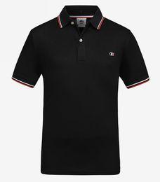 Weißes t-shirt polo online-2019Fashion Luxury T-Shirt Designer T-Shirt Hip Hop Weiß Herrenbekleidung Casual T-Shirts für Männer mit Buchstaben gedruckt T-Shirt Polo Monc Shark