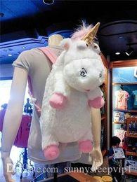 Menor de 60 cm del unicornio bolsa mochila unicornio de peluche juguetes mochila juguete Unicornios para niñas niños desde fabricantes