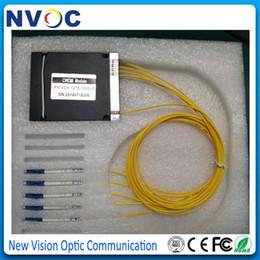 2019 conectores de fibra óptica Módulo da fibra óptica CWDM Mux Demux do canal 4channel 1270-1610nm com o conector de SC / FC / LC / ST desconto conectores de fibra óptica
