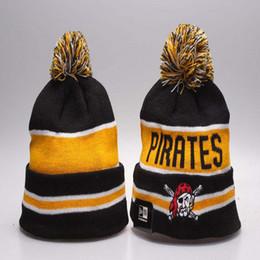 YENI Beyzbol Korsanlar Kış Şapka Erkekler Kadınlar için Kasketleri Pittsburgh Spor Beanies Marka Örme Şapka drop shipping cheap winter sports hats for men nereden erkekler için kış spor şapkaları tedarikçiler