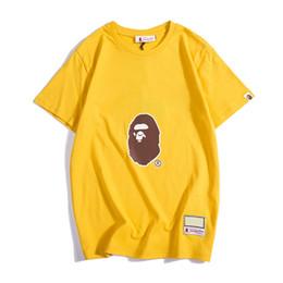 Argentina Bape Mens Designer T Shirt Bape Mens Women Designer Short Sleeves A Bathing Ape Men Camiseta de algodón de alta calidad Talla M-XXL Suministro