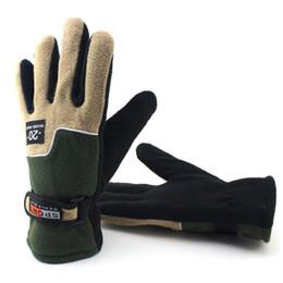 Deutschland 2018 Winter Erarbeiten taktische Handschuhe Fitness Männliche Handschuhe Warme Fleece Beheizte Fahrhandschuhe Herren Baumwolle Gestrickte Homme Versorgung