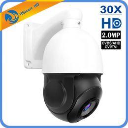 2019 nuit caméra ptz 4.5 '' 30X ZOOM 4in1 AHD / TVI / CVI / CVBS 1080P 2.0MP PTZ Vitesse Dôme Nuit Caméra IR Compatible avec les kits HIKVISION Dahua CVI AHD DVR promotion nuit caméra ptz