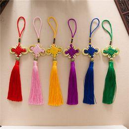 Le nœud chinois ne peut pas seulement être utilisé comme cadeau à la personne que vous aimez, pour exprimer un bon souhait; Et cela peut être un pendentif sur autre chose. ? partir de fabricateur