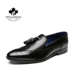 zapatos de vestir de estilo europeo Rebajas Zapatos de vestir para hombres de la marca de zapatos de hombres de negocios casual masculino 2019 Europa de la manera Estilo Comfort Ocio Oficina calzado formal