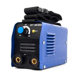Schweißstäbe online-TOSENBA ARC Schweißstabschweißgerät Mini-Schweißgerät MMA Klein 200A 220V ZX7-200 MINI für 1,6-4,0 mm Schweißstäbe im Angebot DC-Inverter IGBT