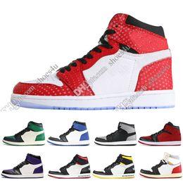 49d2ffeefead4 Nuevo 1 OG Spider-Man Prohibido Wide Toe Chicago Y 1s Juego Royal Blue con  zapatillas de baloncesto Zapatillas Shattered Backboard pero diseñador  deportivo