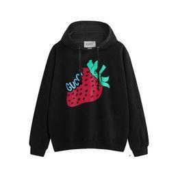 2019 suéter de morango New Designer morango impressão dos homens camisola com capuz Kanye camisola camisolas Harajuku Rua G Hoodie Hip-hop printting Hoodie JX3081 desconto suéter de morango