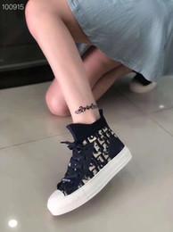 2019 zapatos de goma para las mujeres de china Barato Diseñador de lujo Hombres Zapatos casuales Barato Mejor alta calidad Hombres Mujeres Moda Zapatillas de deporte Zapatos de plataforma de fiesta Velvet Chaussures df0718