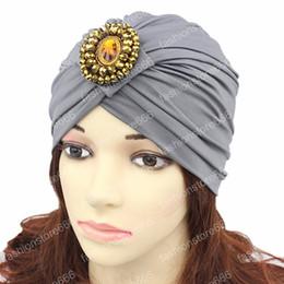Canada Nouveau Stretchy Turban Bande Sleep Hat femmes Head Wrap chapeau musulman femmes indien caps Bijoux Chemo Bandana Hijab turban cheap jewelry heads Offre