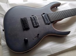 2019 guitare à boulons Bonne Qualité Mayones Duvell 7 cordes Guitare Ebony manche 5pl manche Bolt-on Livraison gratuite guitare à boulons pas cher